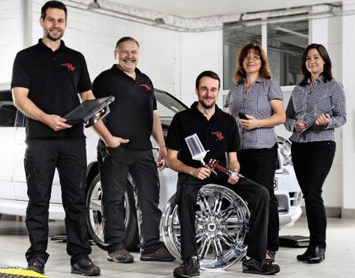 Das Team von Auto Perner in Gerolzhofen